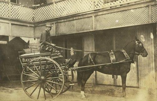 Baynes Limited butchers cart and driver blog