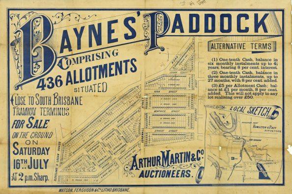 Baynes paddock 1887 blog slq
