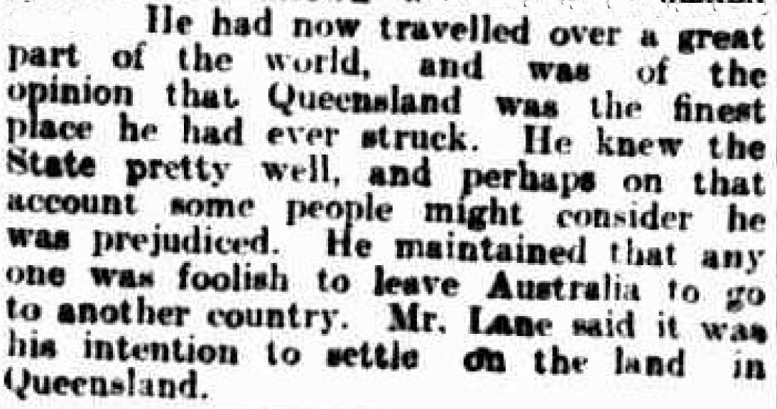 Brisbane Courier (Qld. : 1864 - 1933), Friday 2 August 1907, pag