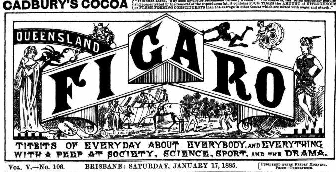 Figaro masthead 1885