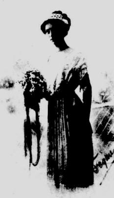 Hilda baynes as debutante 1911