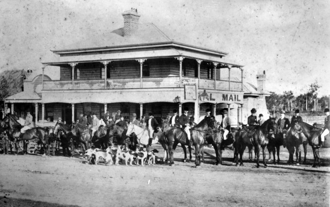 he Brisbane Hunt Club at the Royal Mail Hotel Goodna