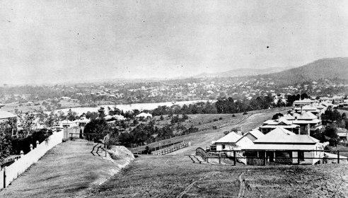 Dornoch Terrace Highagte Hill circa 1901