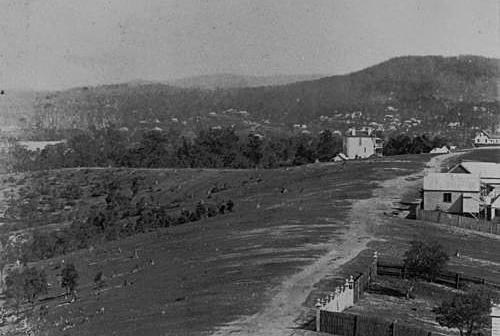 Dornoch Terrace circa 1883