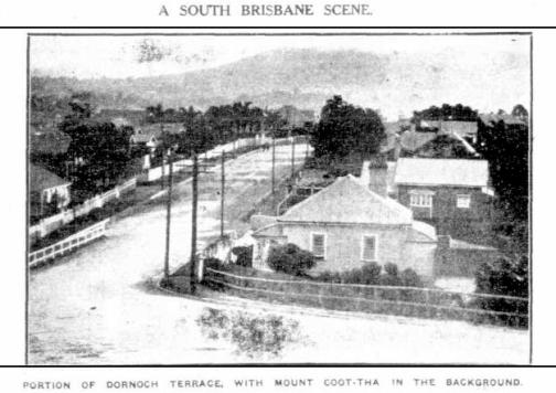 Dornoch terrace 1930