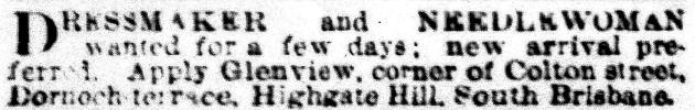 dressmakert April 1886