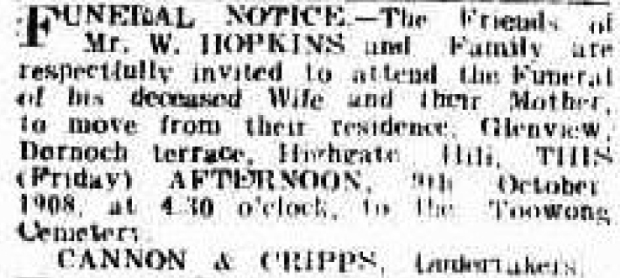 Telegraph (Brisbane, Qld. : 1872 - 1947), Friday 9 October 1908,