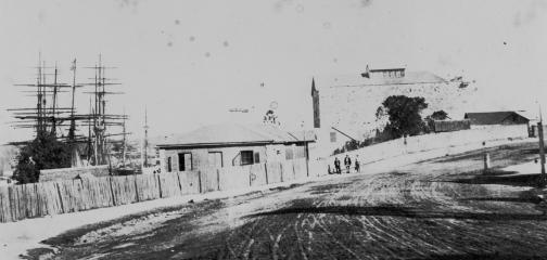 first customs house ca 1873 slq