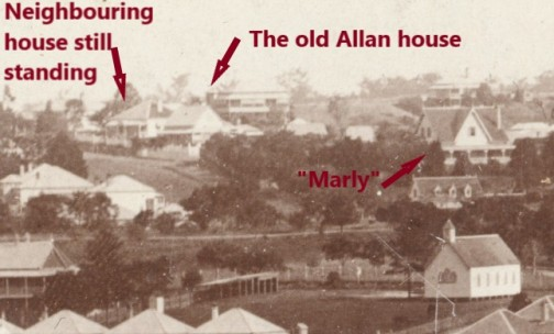 Allan house before Wairuna1888 klose fryer