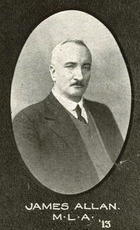 James Allan in 1915. (State Library of Queensland)
