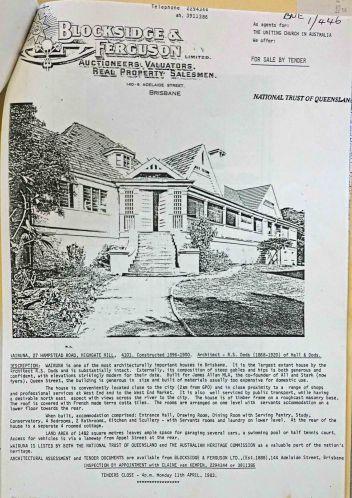 wairuna for sale 1983
