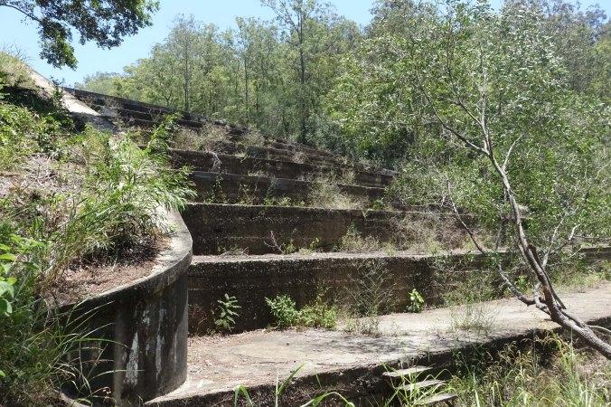 gold creek dam Brookfield Brisbane spillway