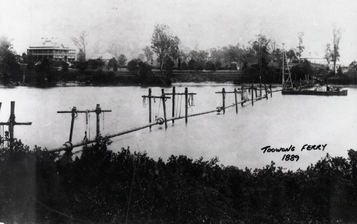 water pipeline river crossing 1889