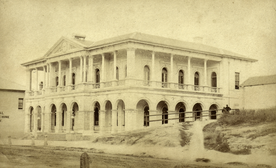 Brisbane General Post POffice 1870s