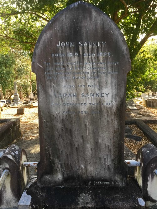 john sankey gravestone