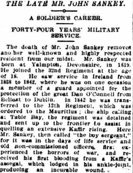 john sankey obituary