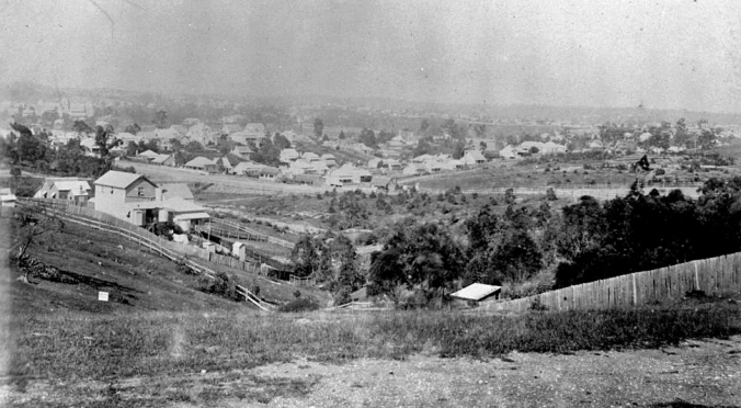 View from Highgate Hill to north east ca 1889.jpg