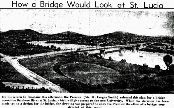 St. Lucia West End bridge Concept 1939