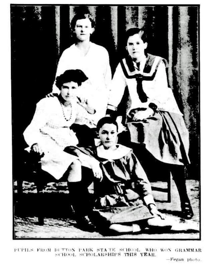 dutton park state school pupils 1918