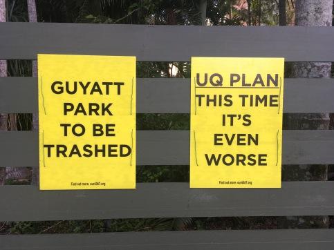 UQ plan Guyatt Park