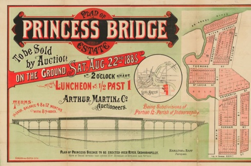 princess bridge estate 1885 slq