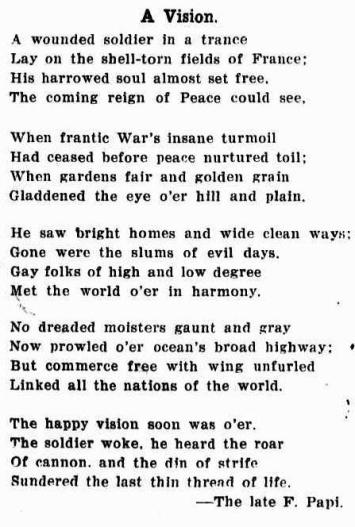 a vision poem papi