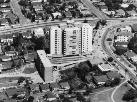 Aerial view Torbreck 1960