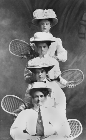Queensland Ladies Interstate Tennis Team 1908