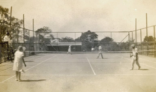 Game of tennis Annerley Brisbane