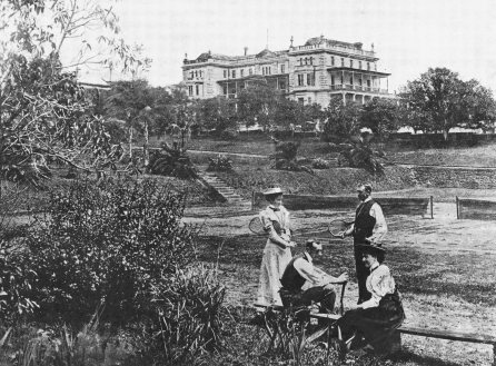 Tennis Botanical gardens 1896