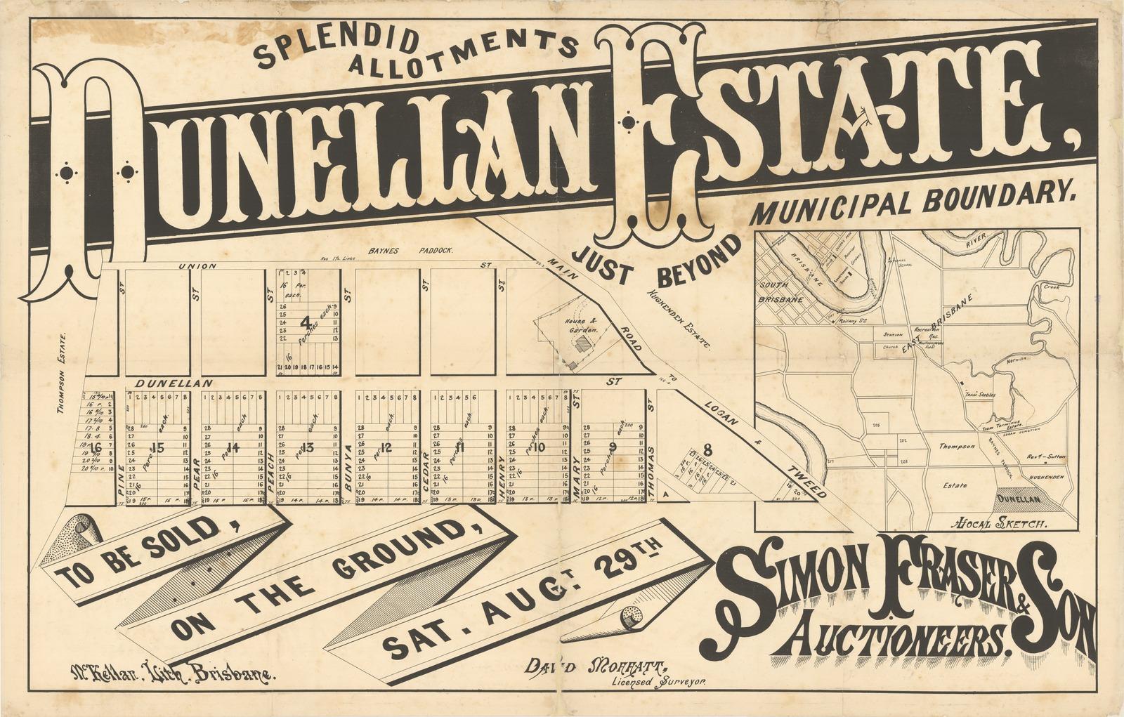dunellan estate 1896