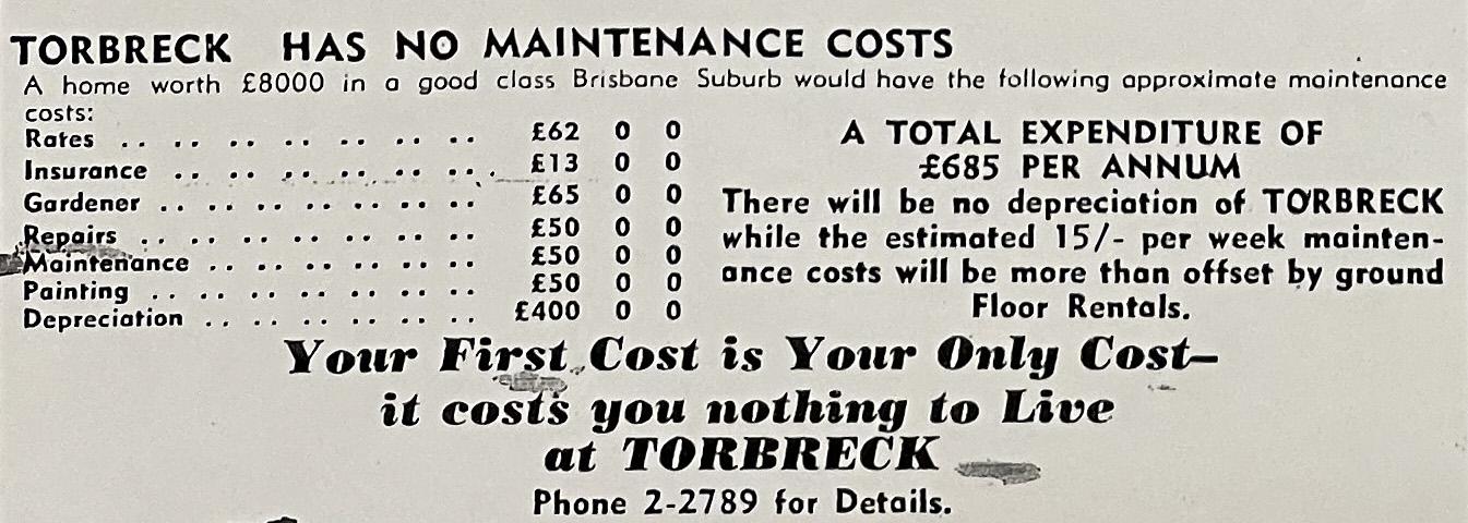 no costs torbreck tele 10 sep 1958