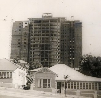 Torbrek under construction ca 1959. (State Library of Queensland)
