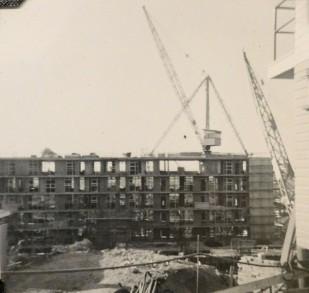 Torbrek under construction ca 1958. (State Library of Queensland)
