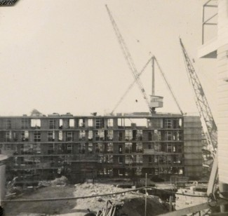 Torbreck under construction ca 1958. (State Library of Queensland)