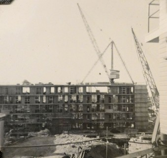 Torbrek under construction ca 1958. (State Library of Queensland)
