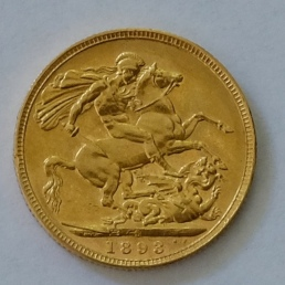 1893 australian gold sovereign