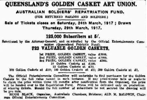 Brisbane Courier (Qld. : 1864 - 1933), Saturday 25 November 1916