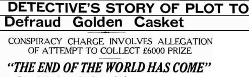 golden casket fraud Truth 20 september 1932