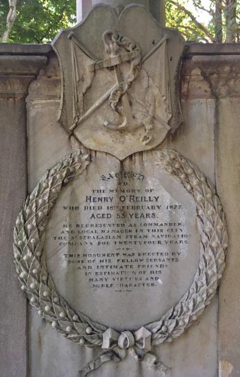 Henry O'Reilly grave Dutton park