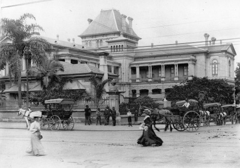 Brisbane Supreme court Building 1907