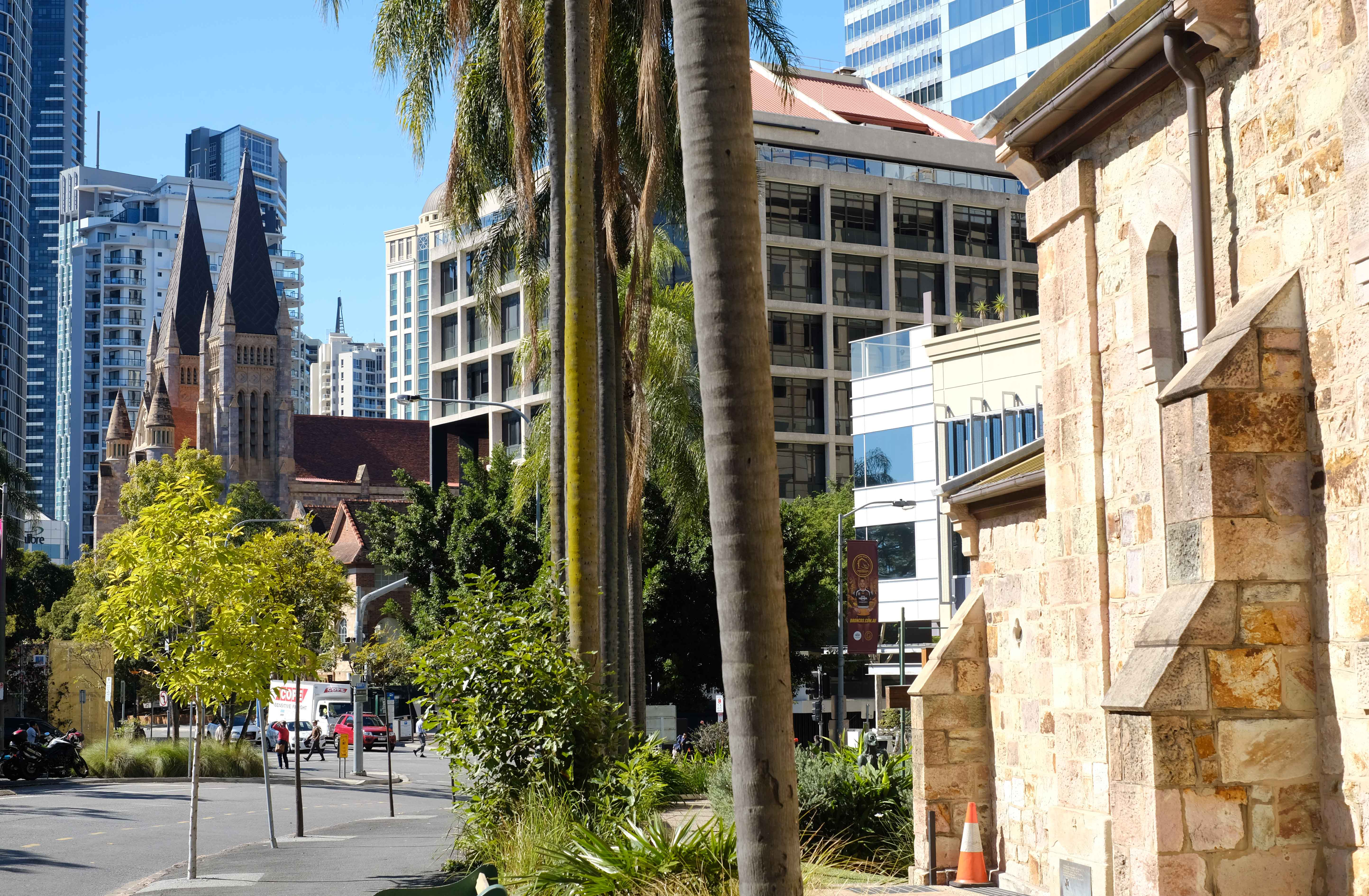 All saints Church and St Johns Cathedral brisbane