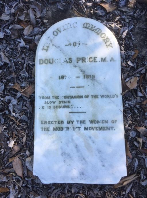 Douglas Price tombstone