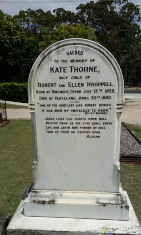 kate hooppell thorne grave