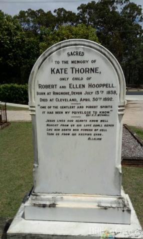 kate hooppell thorne grave