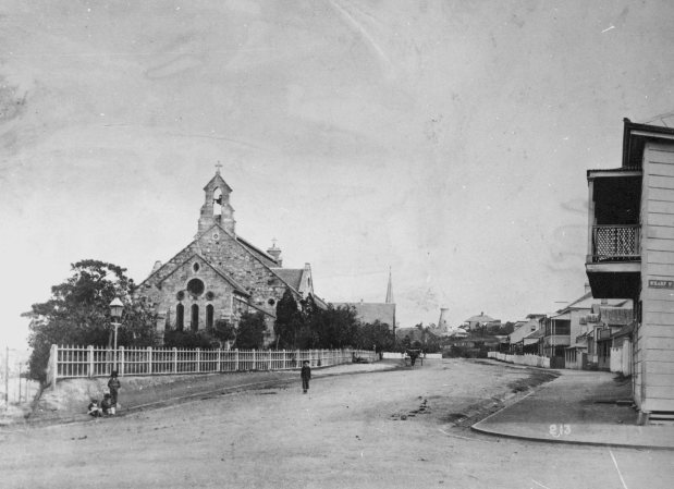 All saints Church Brisbane 1885