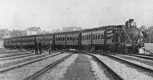 Sydney train arrives in Brisbane