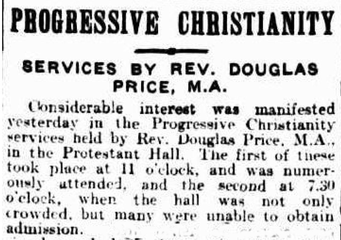 Douglas price progressive Christianity