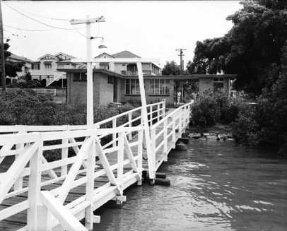 West End Ferry Terminal in 1956 (BCC Archives)