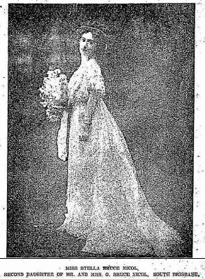 stella bruce nicol as debutante 1908